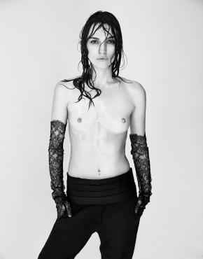 """Keira Knightley e seu topless: """"Os corpos das mulheres são um campo debatalha"""""""