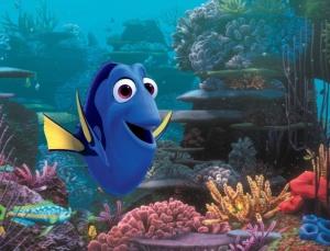 """A peixinha Dory, protagonista de """"Procurando Dory"""" (Pixar)"""