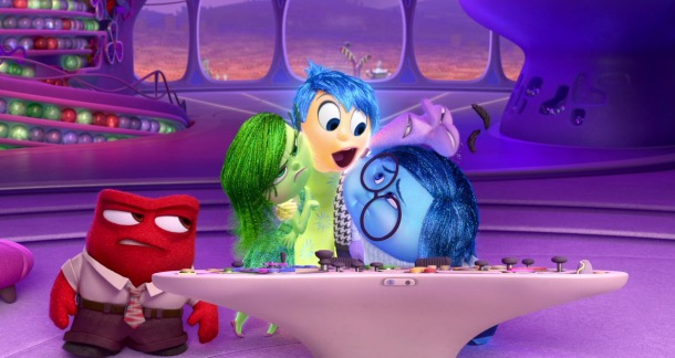 "Cena de ""Divertida Mente"" (Pixar)"