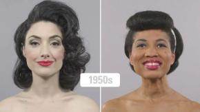 100 anos de beleza (negra e branca) em 1minuto