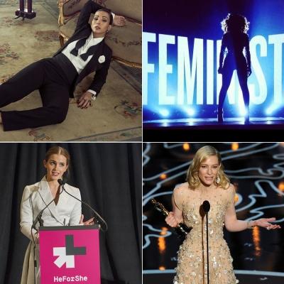 Valesca, Beyoncé, Emma Watson e Cate Blanchett