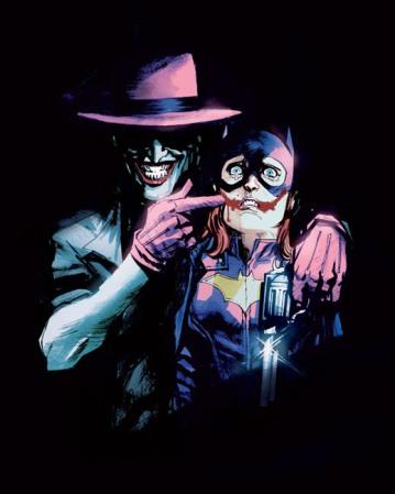 "Capa variante da HQ ""Batgirl"" de junho de 2015, desenhada pelo brasileiro Rafael Albuquerque, que foi cancelada pela DC Comics"