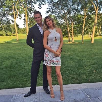 Gisele Bündchen com o marido Tom Brady (Crédito: Reprodução/Instagram/gisele)