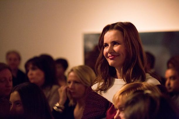3_12_2015 - Evento de arrecadação de fundos An Evening With Geena Davis, na William Turner Gallery, em Los Angeles (Credito - Reprodução, Facebook, Geena Davis Institute on Gender in Media)